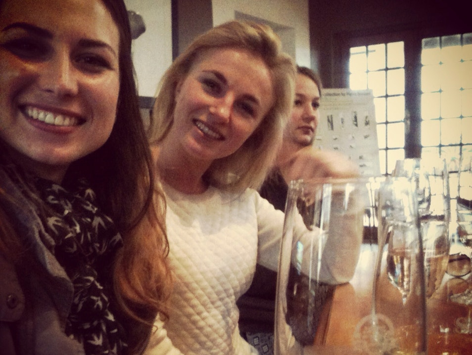 Champagne And Wine tasting At Simonsig