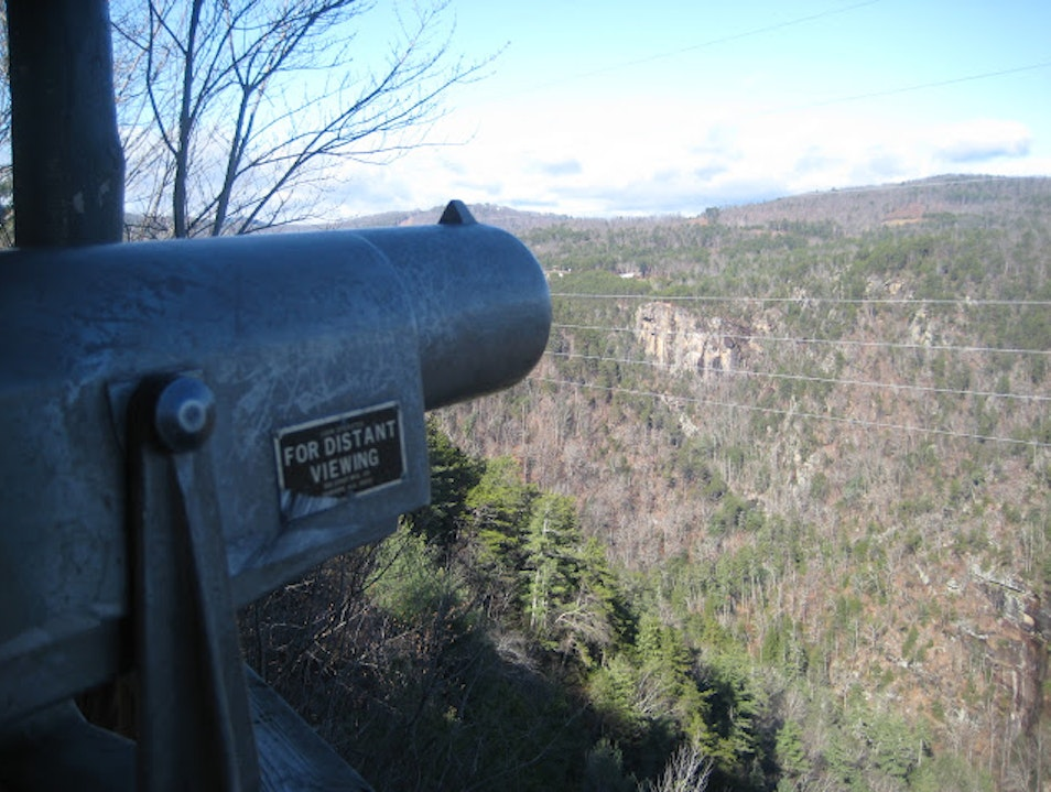 Scenic Overlook at Tallulah Gorge