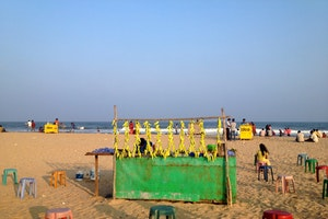 Elliots Beach, Chennai, India