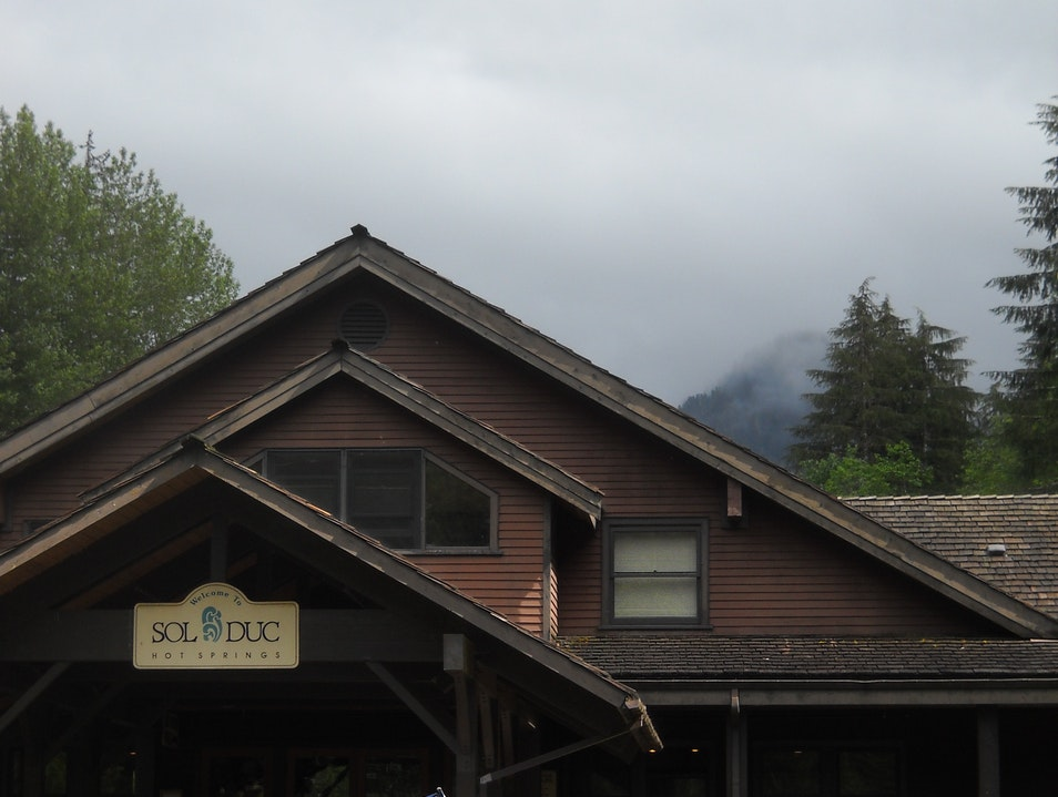 Hiking and Soaking at Sol Duc Hot Springs