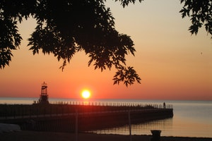 Lighthouse Beach, Rogers Park, Chicago