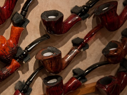 The Danish Pipe Shop  Copenhagen  Denmark