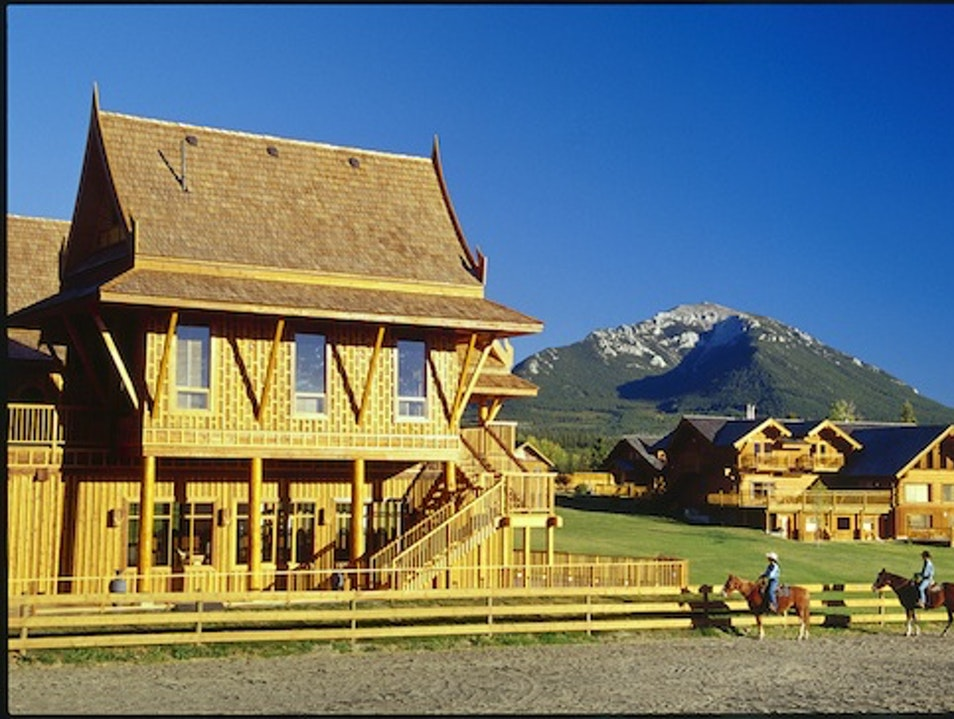 Working Ranches: Echo Valley Ranch & Spa, Clinton, British Columbia