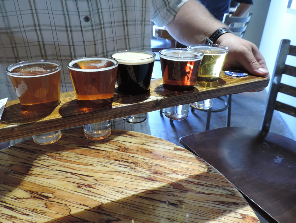Happy Hour At Mike Hess Brewery San Diego California United States