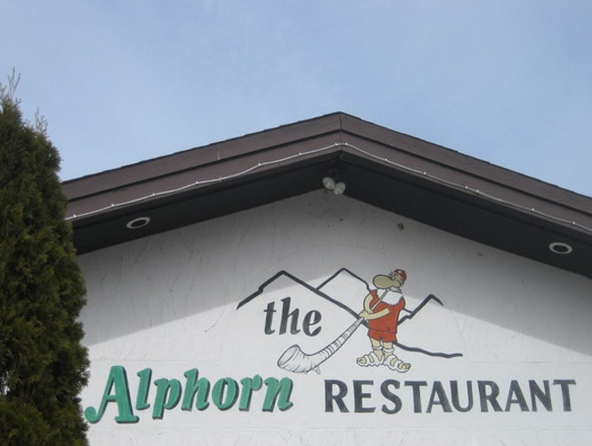 Ring the Bell and Gobble Schnitzel at the Alphorn