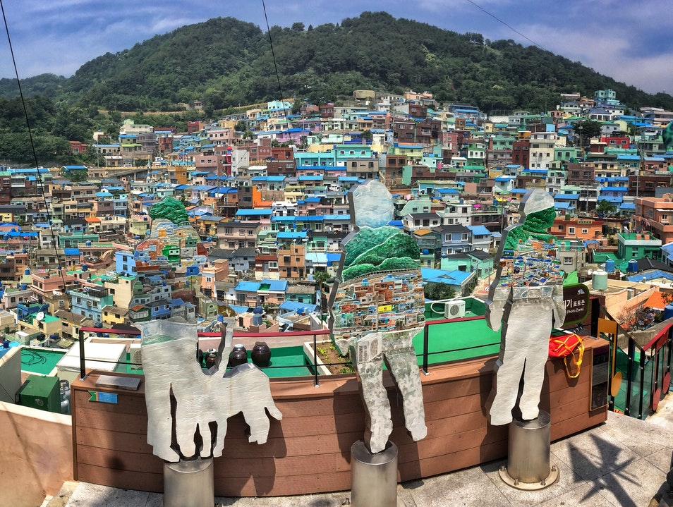 From refugees to artists: Busan's hilly Gamcheon village Busan  South Korea