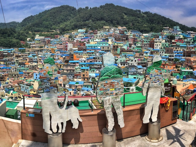 From refugees to artists: Busan's hilly Gamcheon village