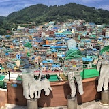 Gamcheon district, Busan, South Korea