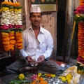 Dadar Flower Market Mumbai  India