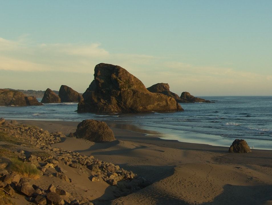 Sea Stack Paradise Gold Beach Oregon United States