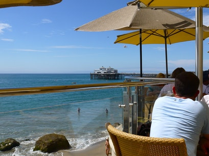 Carbon Beach Club at Malibu Beach Inn Malibu California United States