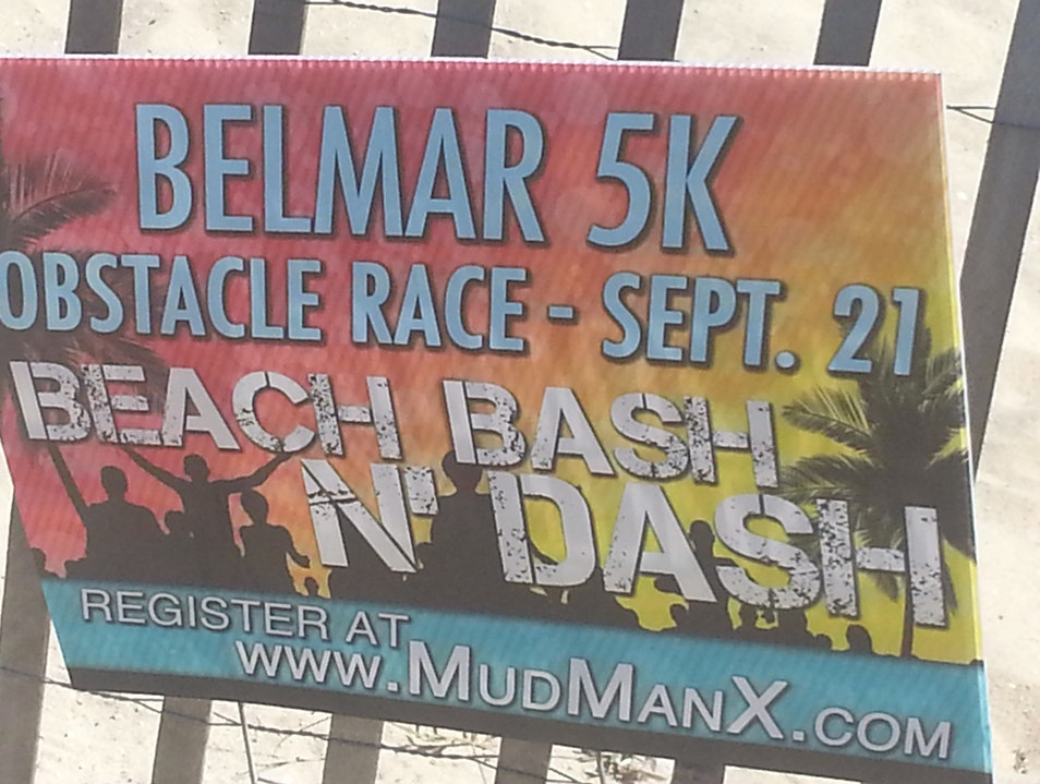 The Mud ManX Beach Bash N'Dash Belmar Belmar New Jersey United States