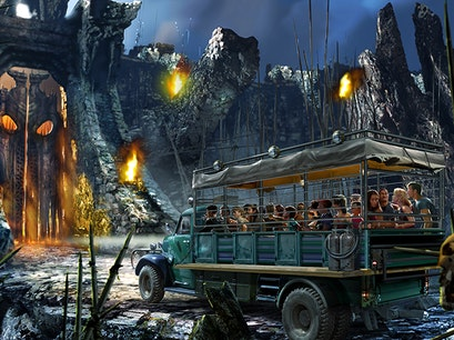 Universal's Islands of Adventure Theme Park Orlando Florida United States