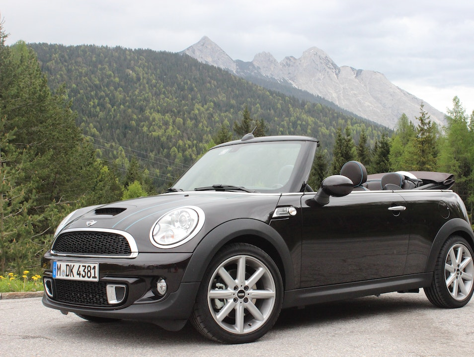 Crusing Germany's Autobahn in a MINI Roadster Munich  Germany