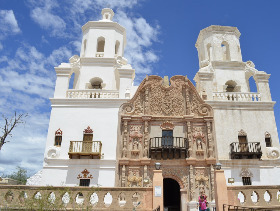 San Xavier Mission Tucson Arizona United States