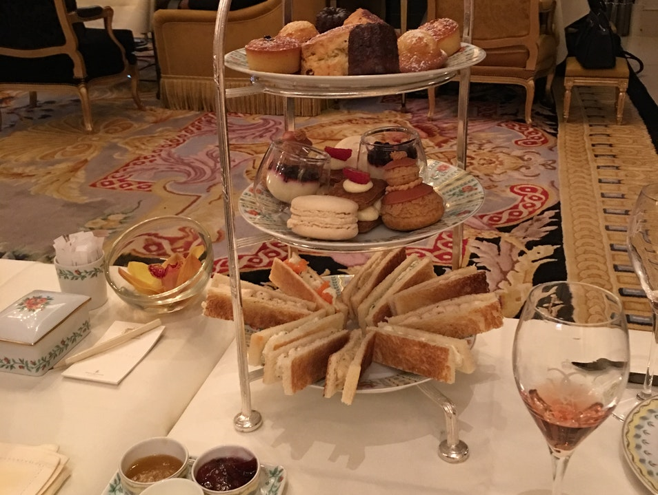 High Tea at Hotel George V Paris  France