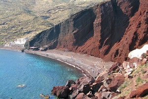 Red Beach, Akrotiri