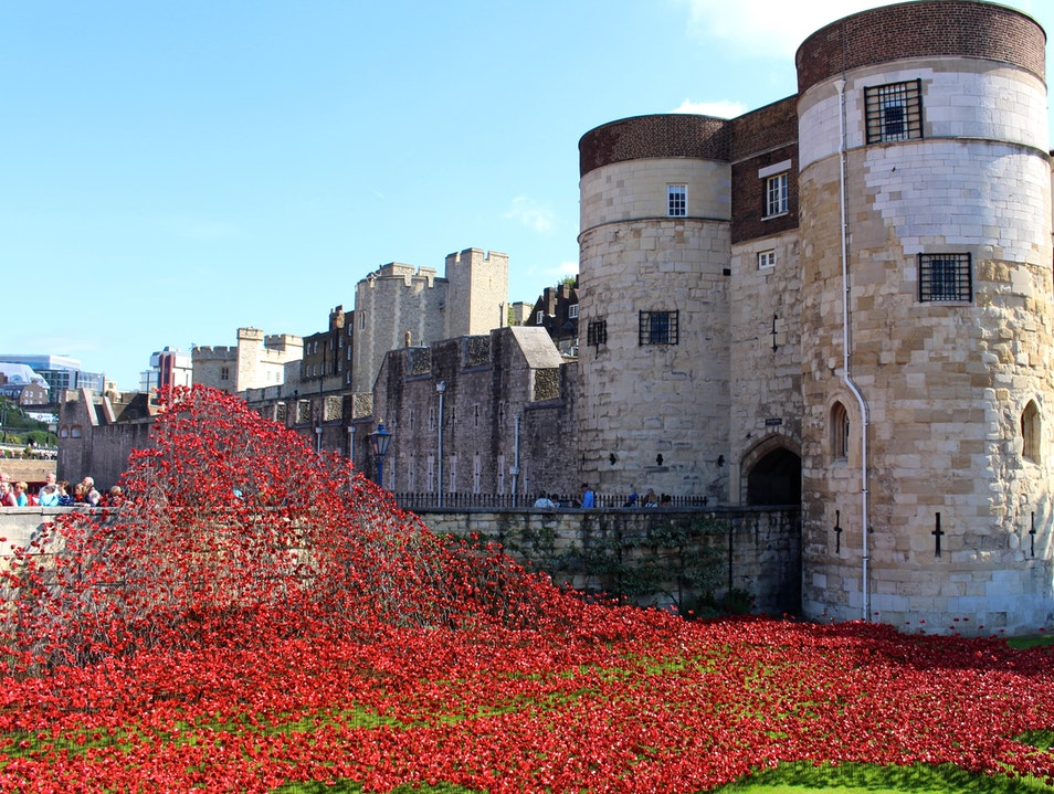 Tower of London Remembers: Blood Swept Lands and Seas of Red London  United Kingdom