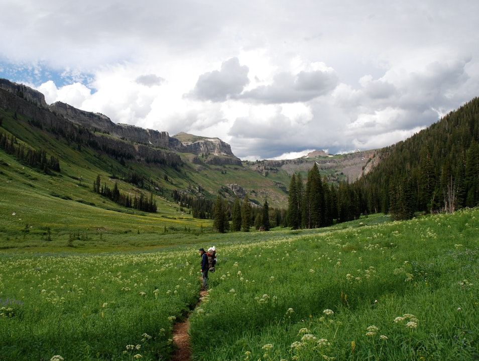 Death Canyon hiking Alta Wyoming United States