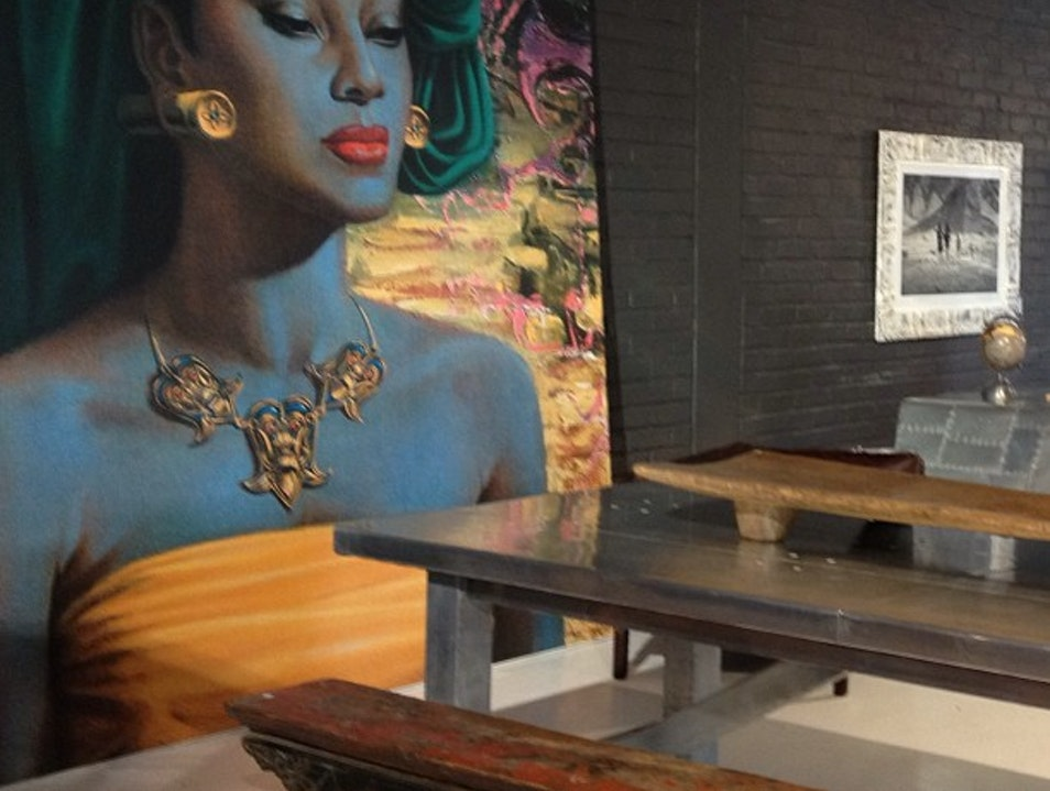 Eclectic Global Finds at Fab Furniture Shop Weylandt's