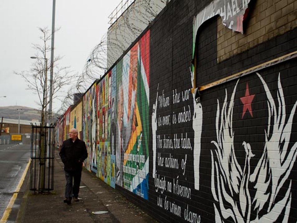 A Step Back Into the Troubles  Belfast  United Kingdom