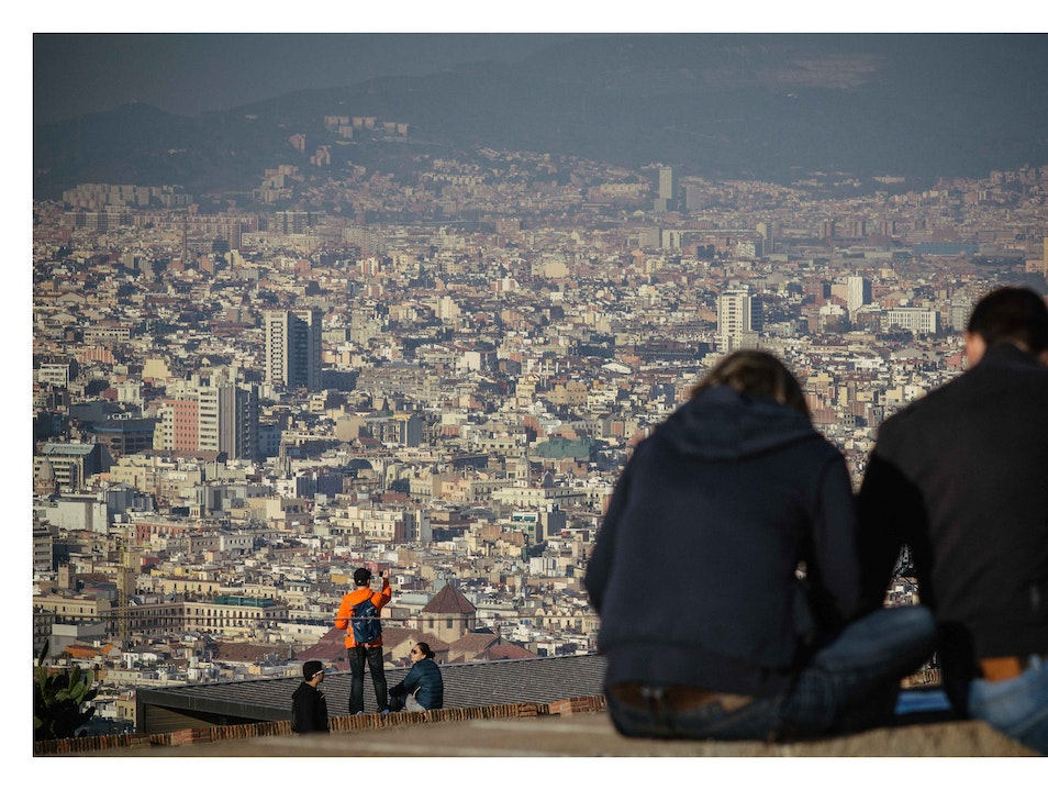 Montjuic ::: Vista extraordinary Barcelona  Spain