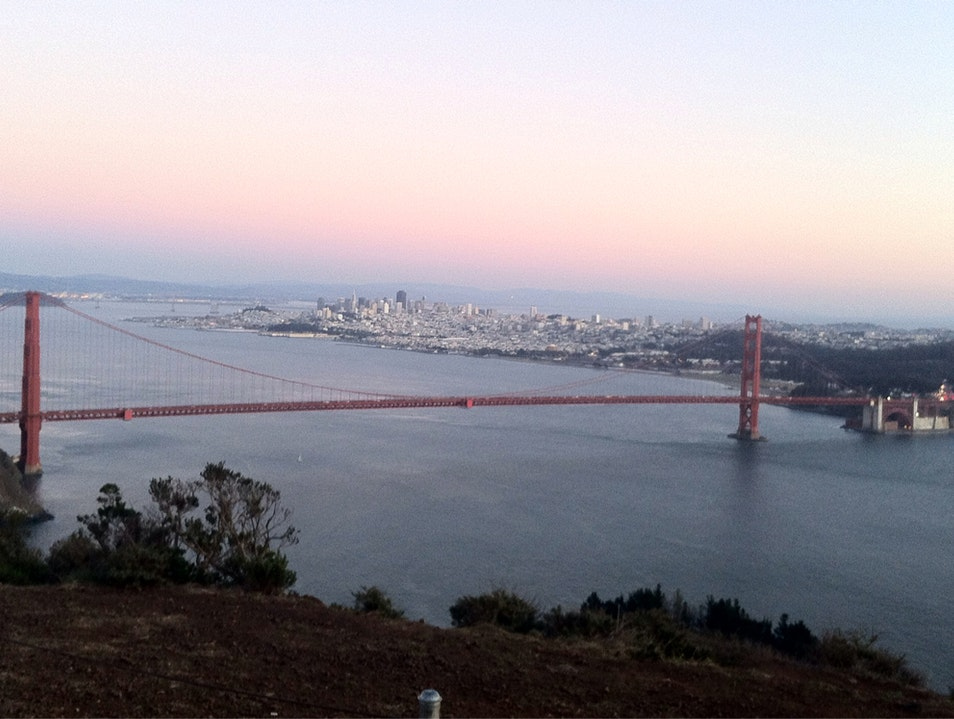 Sunset Over San Francisco - Breathtaking Sausalito California United States