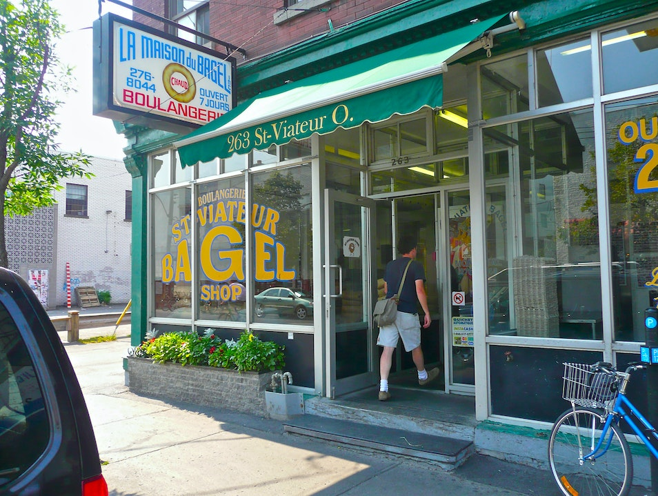 Montreal's Best Bagel? The Issue is not Black and White. Montreal  Canada