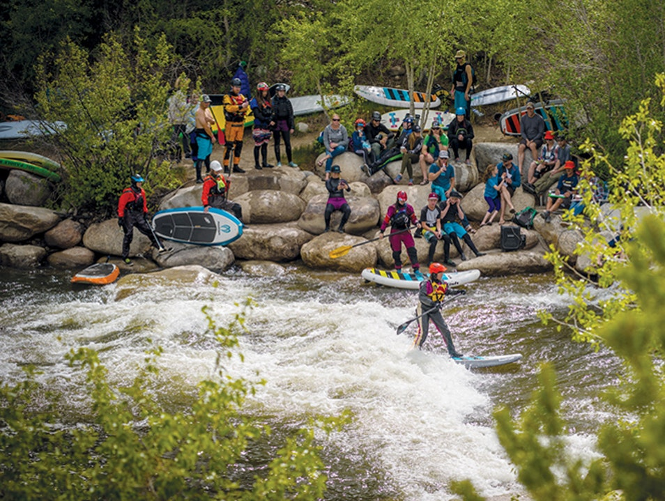 Buena Vista Whitewater Park Buena Vista Colorado United States