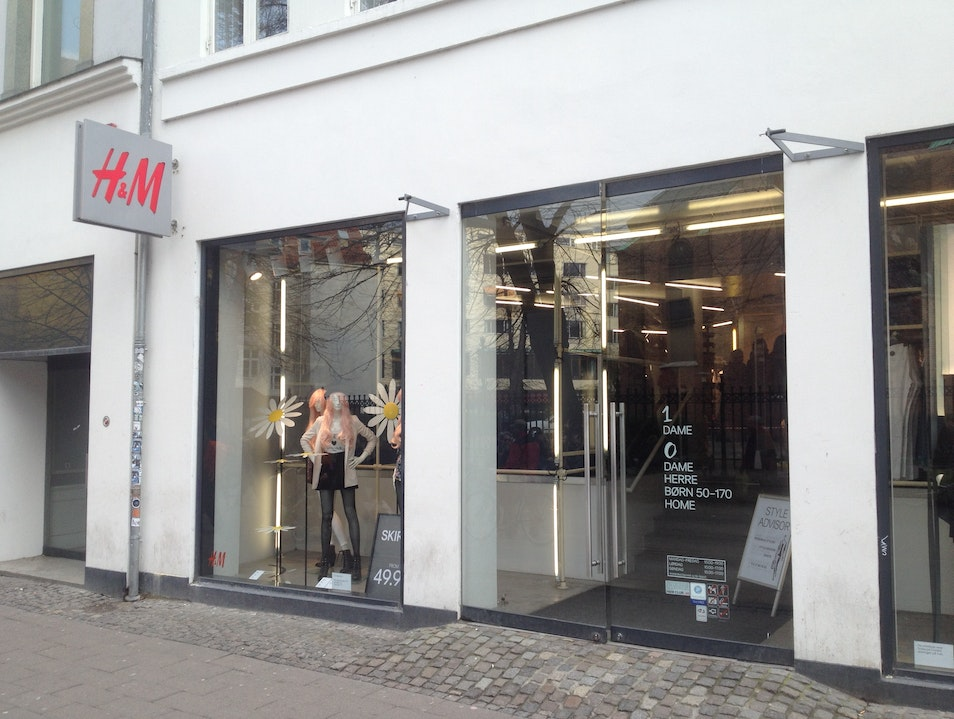 H&M Men's and Women's Clothing Copenhagen  Denmark
