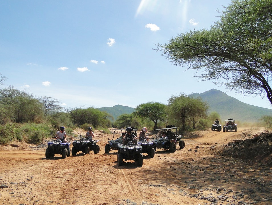 Quad Biking in Lewa Meru  Kenya