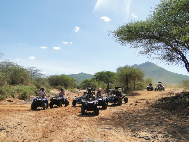 Quad Biking in Lewa