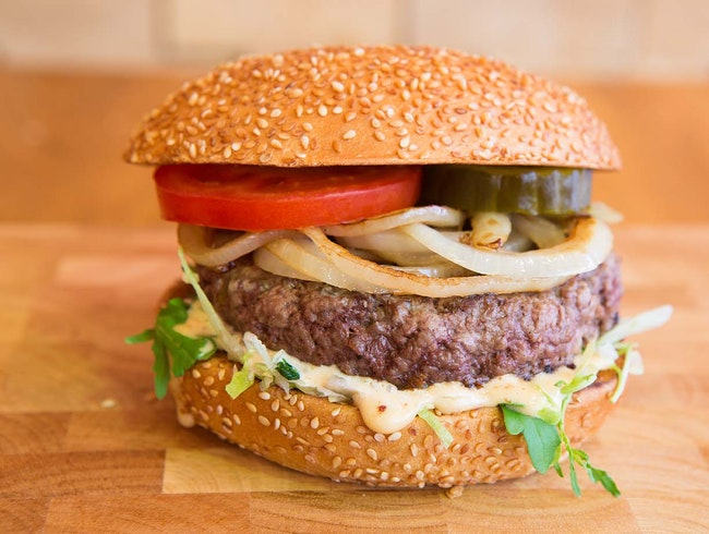 Burger Bar: Gourmet Burgers, Late Night Snacks