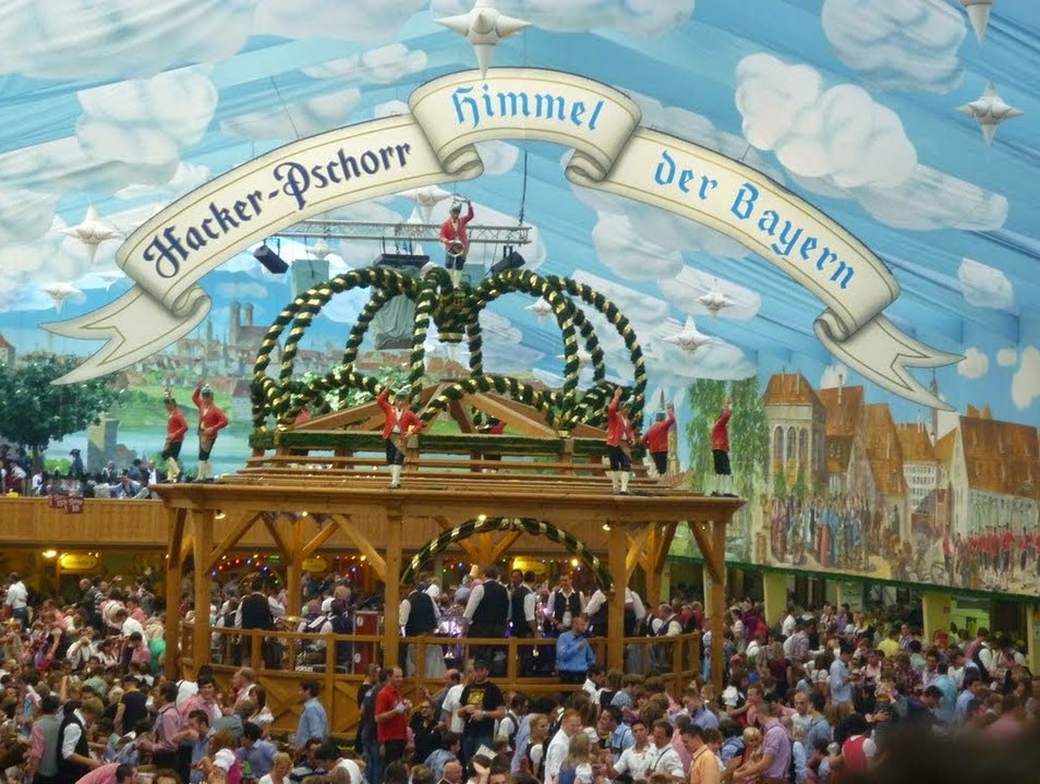 Research your Oktoberfest Tents!