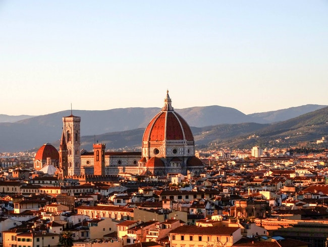 There are views and then there is Firenze...