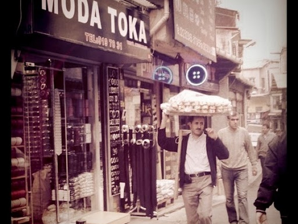 "Authentic Turkiye: ""The Bread Man"" Istanbul  Turkey"