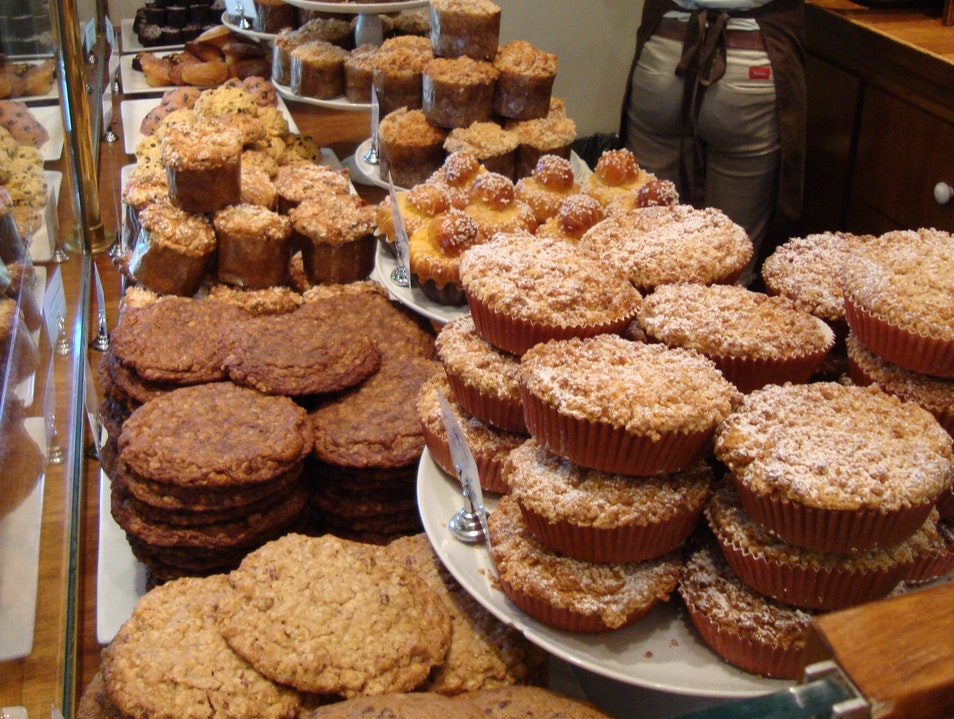 Baked Goods at Bouchon's Bakery in the Napa Valley Yountville California United States
