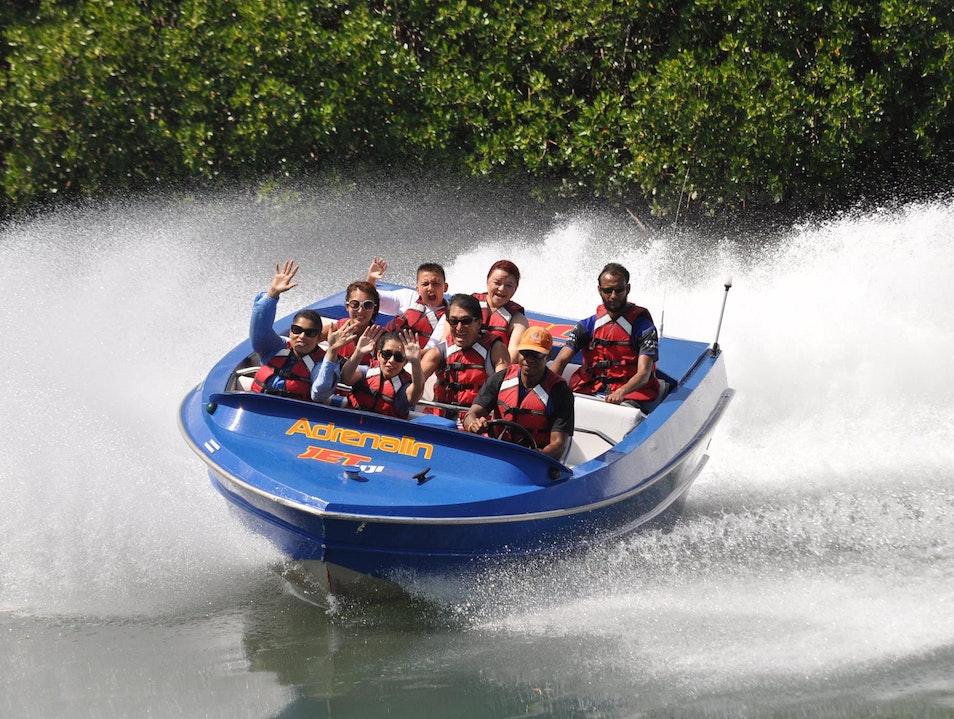 Spinning Thrill Ride on Jet Boats