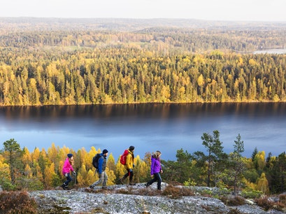 Hiking in Dalsland Färgelanda N  Sweden
