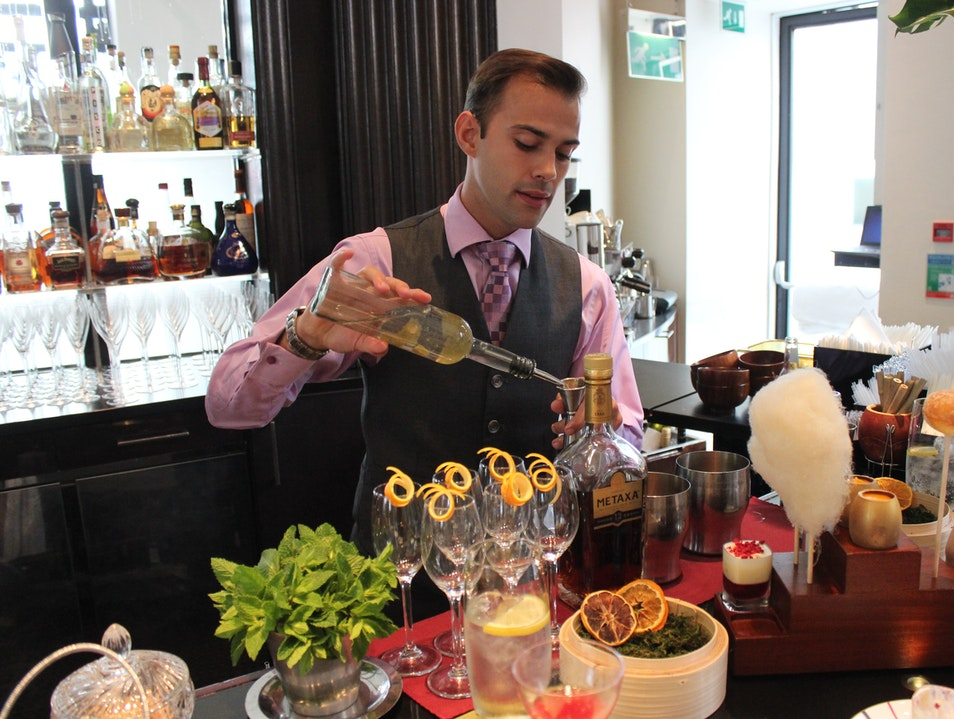 Cocktail Classes at One Aldwych's Lobby Bar London  United Kingdom
