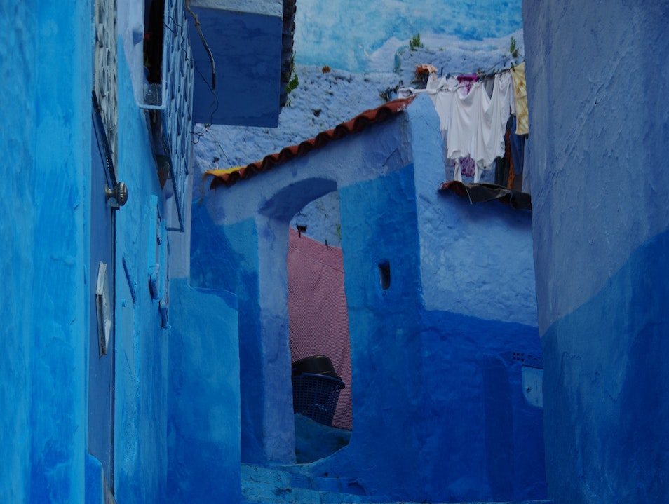 Never happier feeling blue! Chefchaouen  Morocco