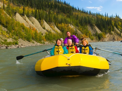 Whitewater Rafting on the Nenana River Nenana Alaska United States