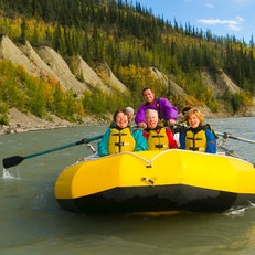 Whitewater Rafting on the Nenana River