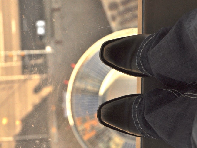Acrophobia in Cowtown