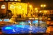 Budapest thermal baths under a crescent moon Budapest  Hungary