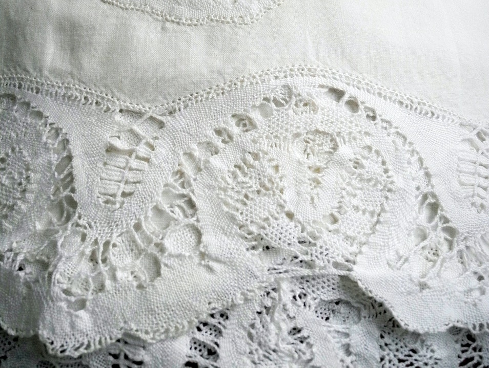 A Beautiful Linen and Lace Gift