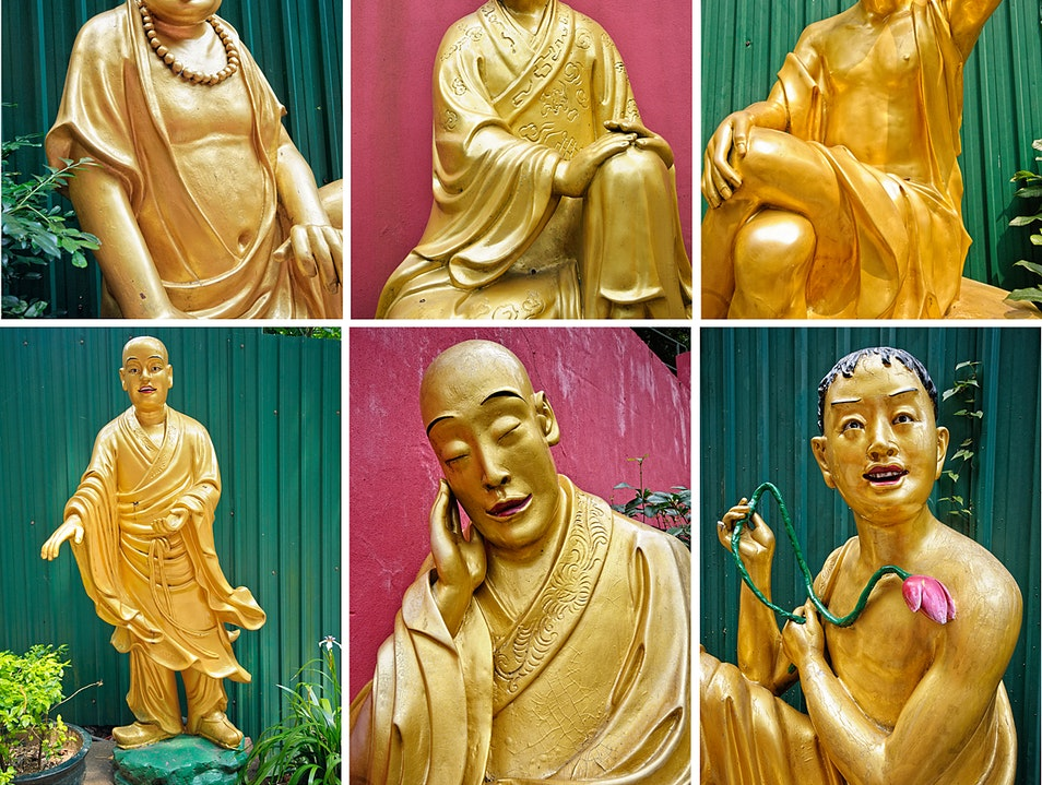 Buddhas of All Shapes and Sizes