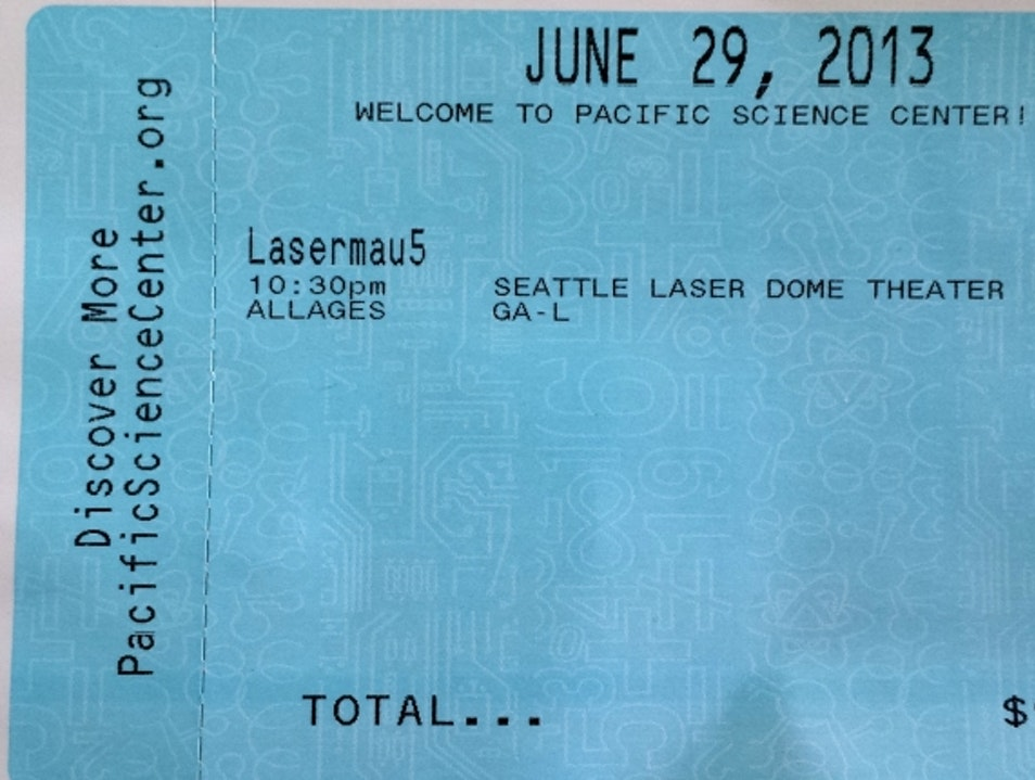 Laser Show: Prepare for Auditory and Visual Overload Seattle Washington United States