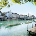 Limmatquai Zurich  Switzerland