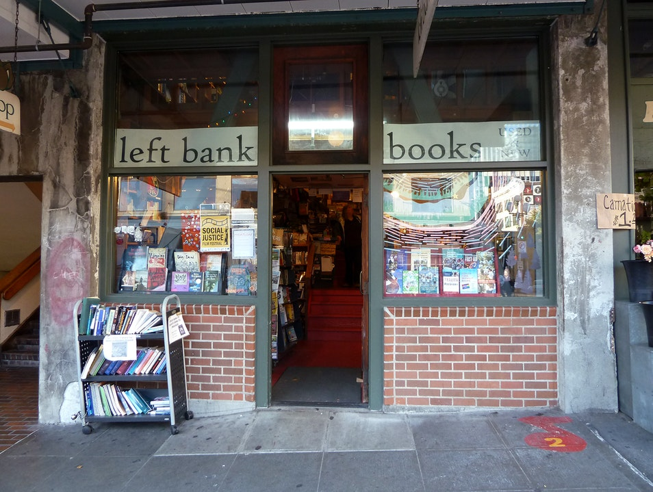 Visit an Anarchist Bookstore Seattle Washington United States
